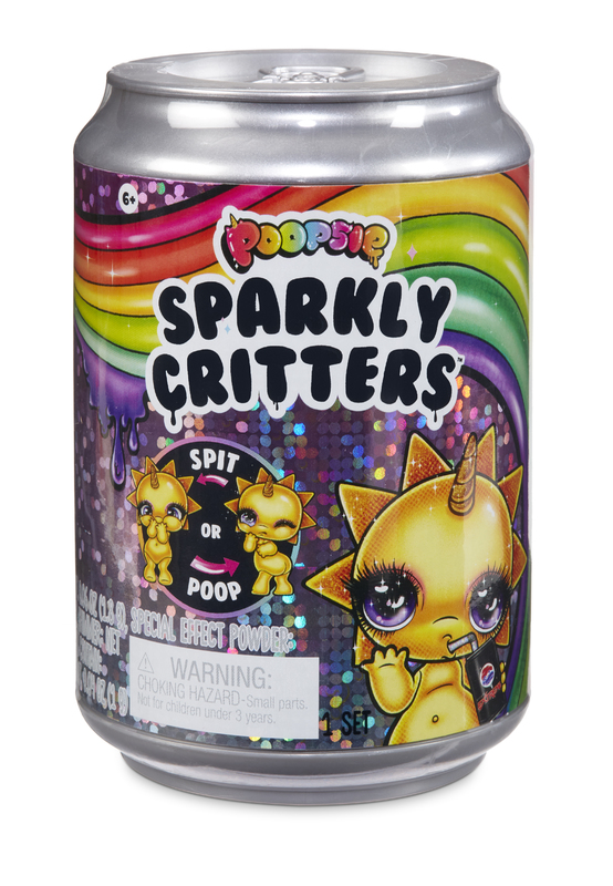 Rainbow Surprise: Sparkly Critters - Poop Pack (Assorted Designs)