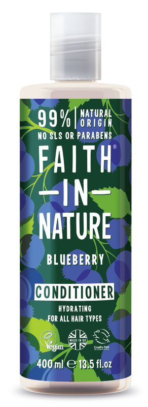 Faith In Nature: Blueberry Conditioner for All Hair Types (400ml)