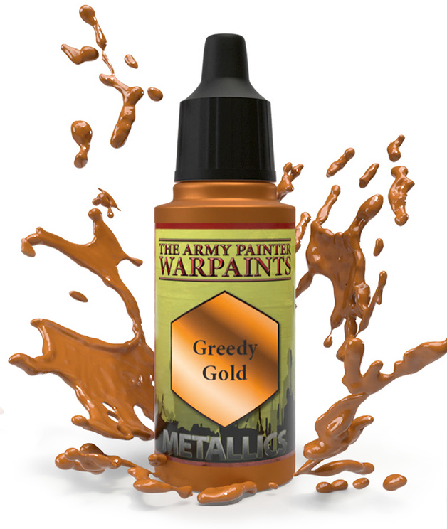 Army Painter: Warpaints - Greedy Gold