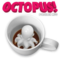 Octopus Porcelain Mug