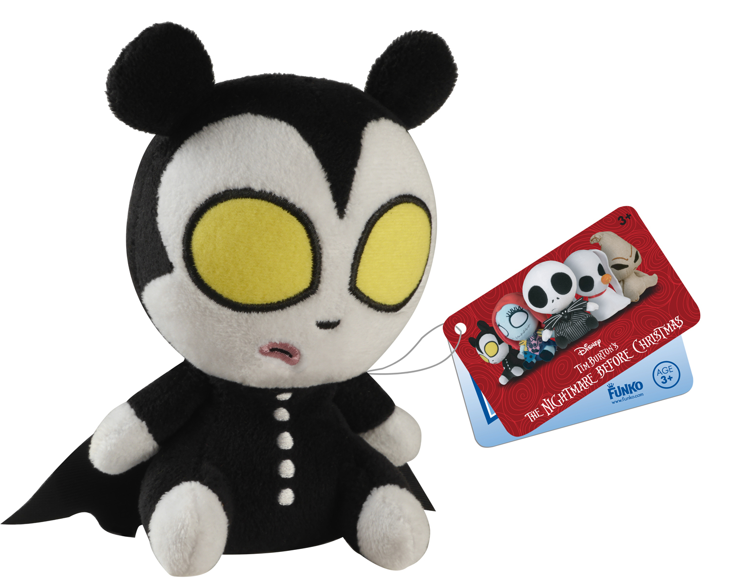 Nightmare Before Christmas Mopeez - Vampire Teddy Plush | Toy | at ...