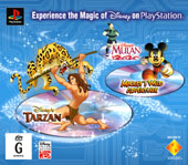 Tarzan/Mickey/Mulan Triple Pack for