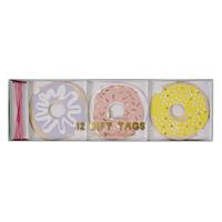 Meri Meri - Doughnut Gift Tags (12 Pack)