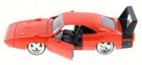 Jada: 1/24 Dodge Charger Ht Diecast Model (Orange) image