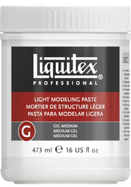 Liquitex: Light Modeling Paste Gel (473ml)