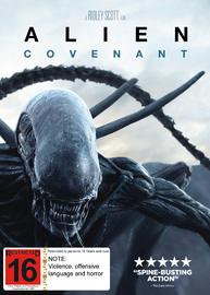 Alien: Covenant on DVD image