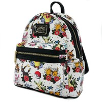 Loungefly: Pokemon Eevee Evolutions - Tattoo Mini Backpack