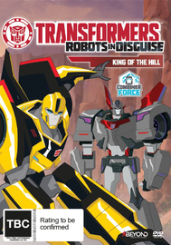 Transformers: Robots in Disguise - King Of The Hill on DVD