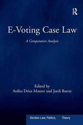 E-Voting Case Law by Ardita Driza Maurer image