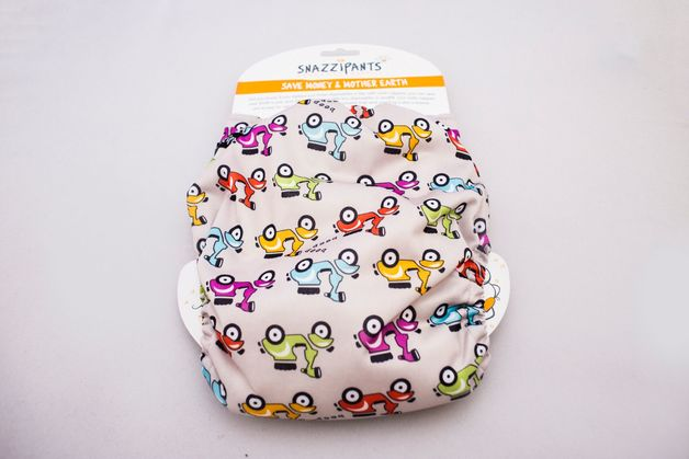 Snazzipants: All in One Reusable Nappy - Moped