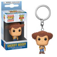 Toy Story 4 - Woody Pop! Keychain
