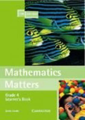 Mathematics Matters Grade 4 Learner's Book by Zonia Jooste image