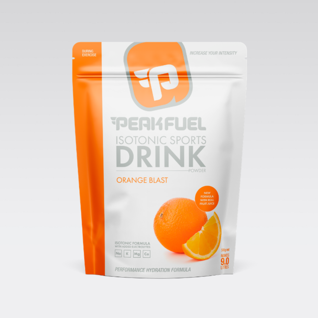 PeakFuel Electrolyte Hydration Drink - Orange Blast (510g)