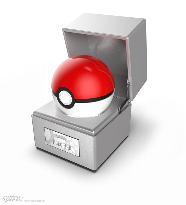 Pokémon: Poké Ball - Electronic Die-Cast Replica