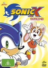 Sonic X - Volume 13 on DVD