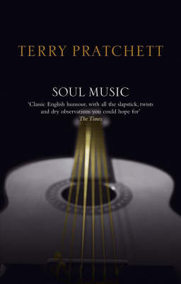 Soul Music (Discworld - Death / The Wizards) (black cover) by Terry Pratchett image