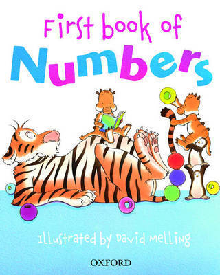 Oxford First Book of Numbers by Peter Patilla