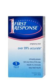 First Response Pregnancy Test Kit - Single image