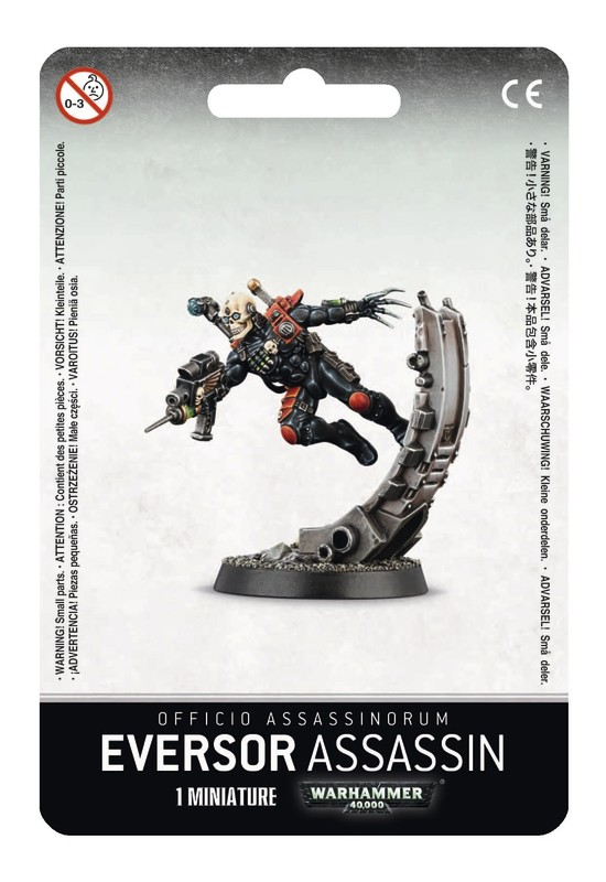 Warhammer 40,000 Officio Assassinorum: Eversor Assassin