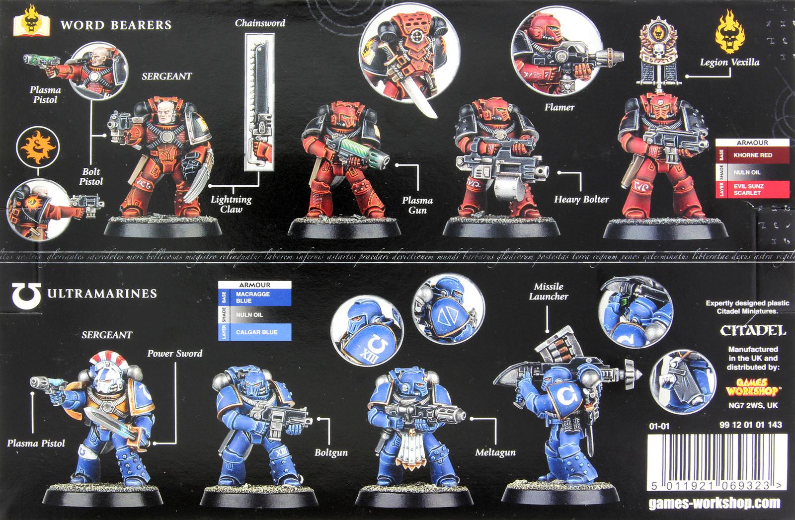 Horus Heresy: Mark IV Space Marines image