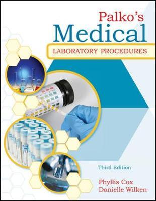 Palko's Medical Laboratory Procedures by Phyllis Cox image