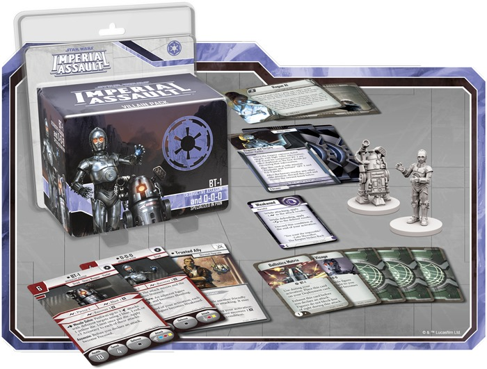 Star Wars: Imperial Assault: BT-1 and 0-0-0 - Villain Pack image