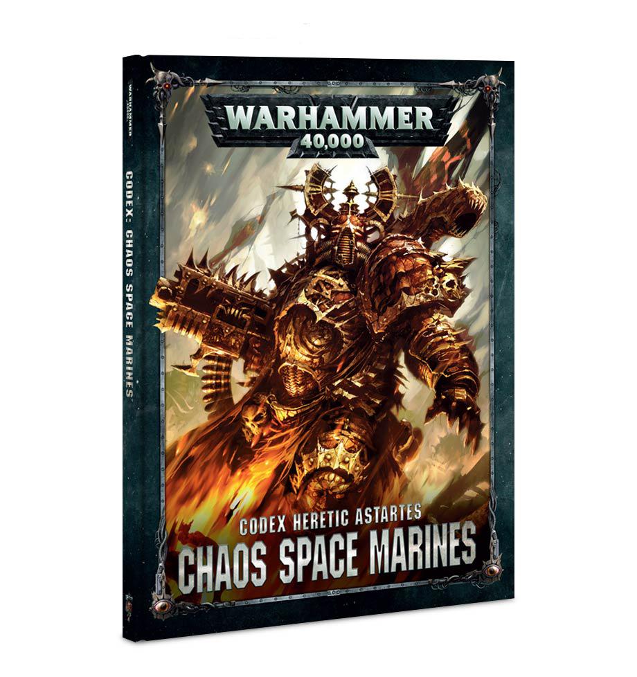 Warhammer 40,000 Codex: Chaos Space Marines image
