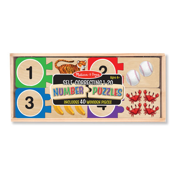 Melissa & Doug: Number Puzzles image