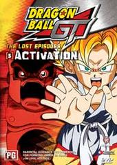 Dragon Ball GT - Lost Episodes Vol 5 : Activation on DVD