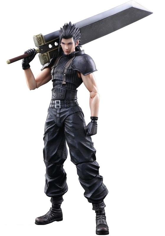 Final Fantasy VII: Zack Fair - Play Arts Kai Figure