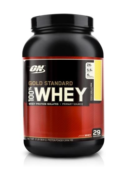 Optimum Nutrition Gold Standard 100% Whey - French Vanilla (907g) image
