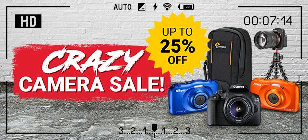 Crazy Camera SALE!