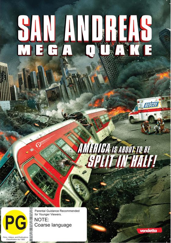 San Andreas Mega Quake on DVD