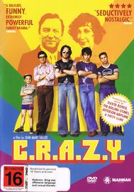 C.R.A.Z.Y. on DVD image