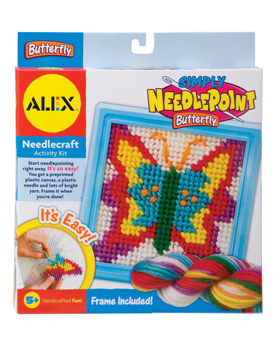 Alex: Simply Needlepoint Butterfly