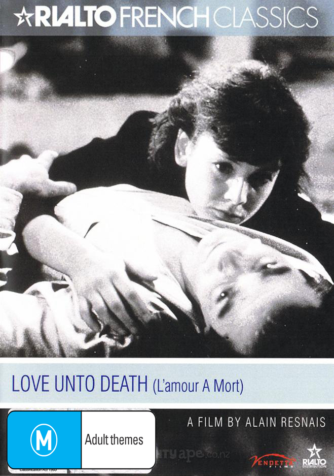 Love Unto Death on DVD image