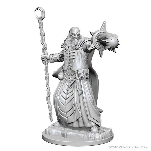 D&D Nolzur's Marvelous: Unpainted Minis - Human Male Wizard