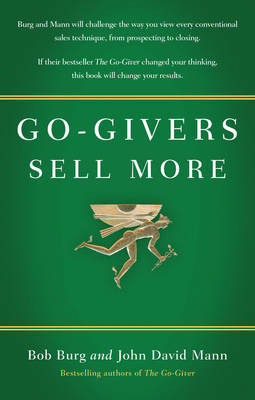 Go-givers Sell More by Bob Burg image