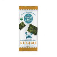 Honest Sea Organic Roasted Seaweed Snack (Sesame)
