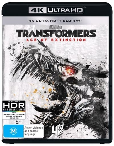 Transformers: Age Of Extinction on UHD Blu-ray image