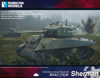 Rubicon 1/56 M4A2(W)76 Sherman