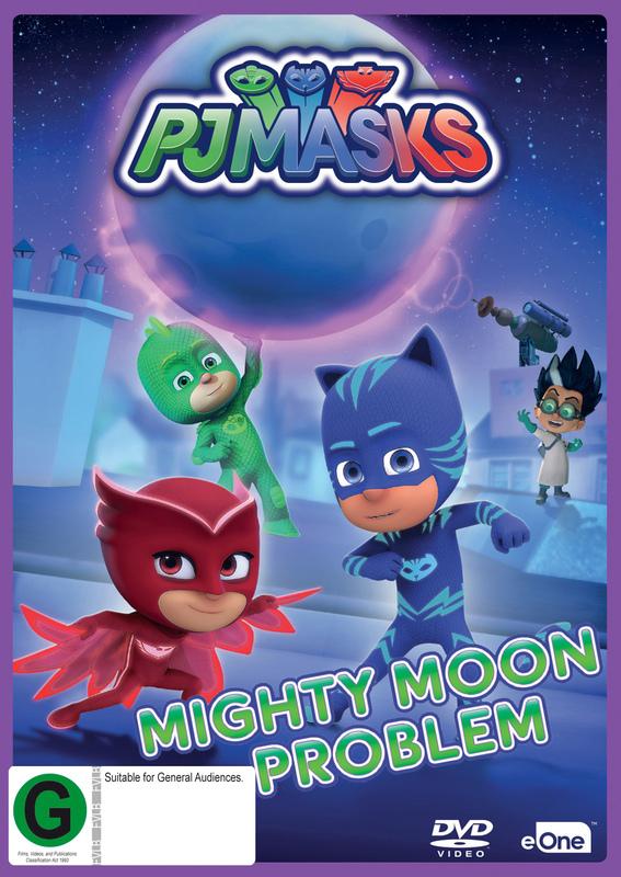 PJ Masks: Mighty Moon Problem on DVD