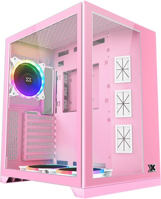 Xigmatek Aquarius S Queen Tempered Glass Mid Tower Case