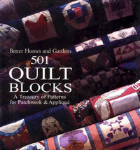 501 Quilt Blocks by Better Homes & Gardens image