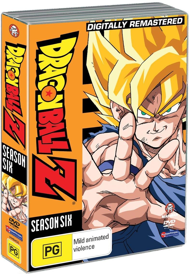 Dragon Ball Z - Season 6 on DVD image