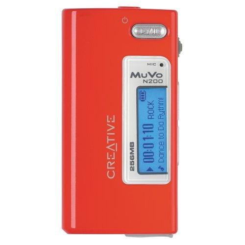 CREATIVE LABS Creative Muvo Micro N200 256Mb Red