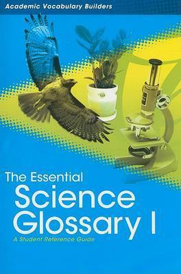 Essential Science Glossary 1 by Red Brick Learning