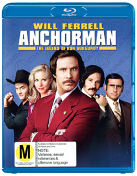 Anchorman (Extended Cut) on Blu-ray