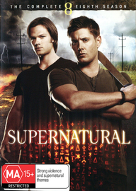 Supernatural - The Complete Eighth Season on DVD