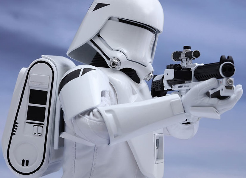 """Star Wars: The Force Awakens - 12"""" First Order Snowtrooper Figure image"""